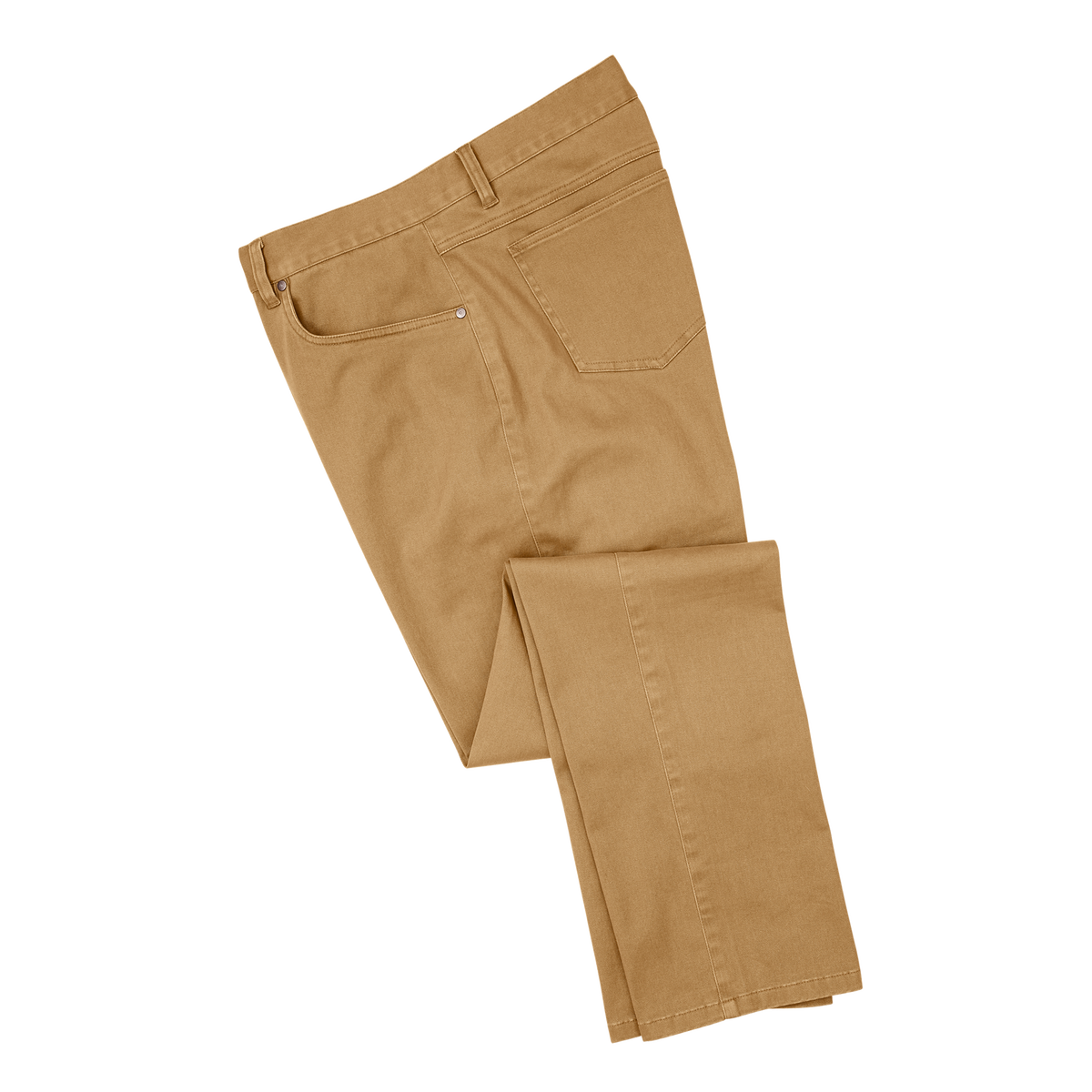 Sueded Cotton Twill 5-Pocket Pant