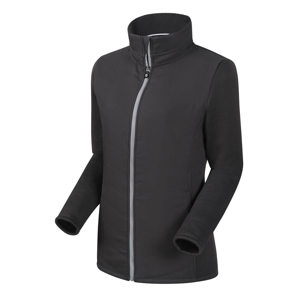 a6608fae9 Full-Zip Quilted Hybrid Jacket Women-Previous Season Style - FootJoy