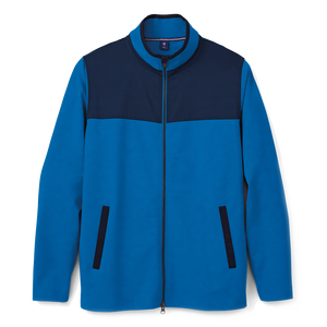 Brushed Back Jersey Full-Zip-Previous Season Style