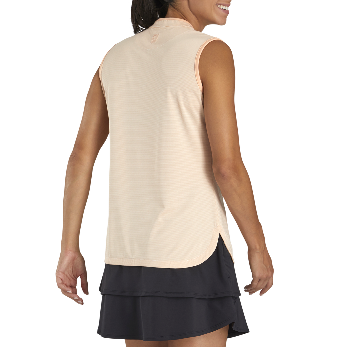 Lisle Micro Stripe Sleeveless Women