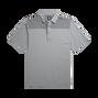 Lisle Color Block Top Knit Collar