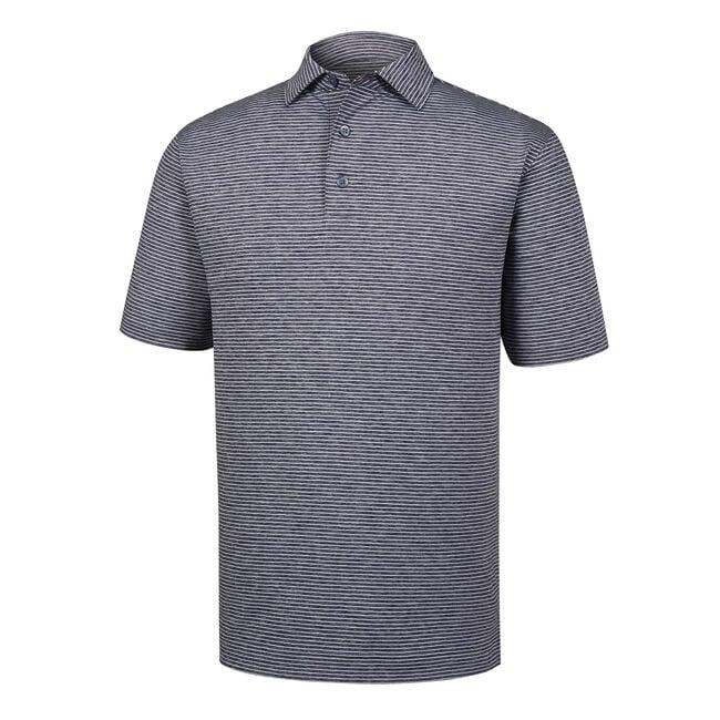 696dcd6aec8 Heather Pinstripe Lisle Self Collar. Heather Pinstripe Lisle Self Collar.  Men s Golf Shirts