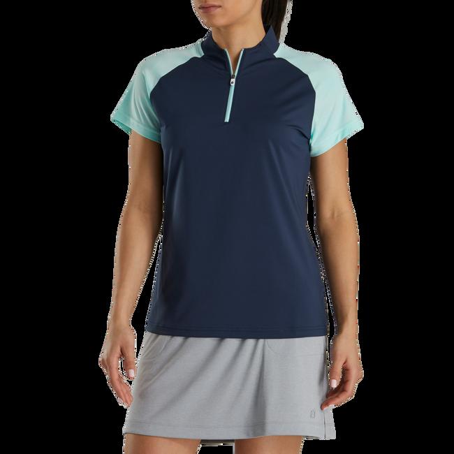 Zip Placket Shirt Women