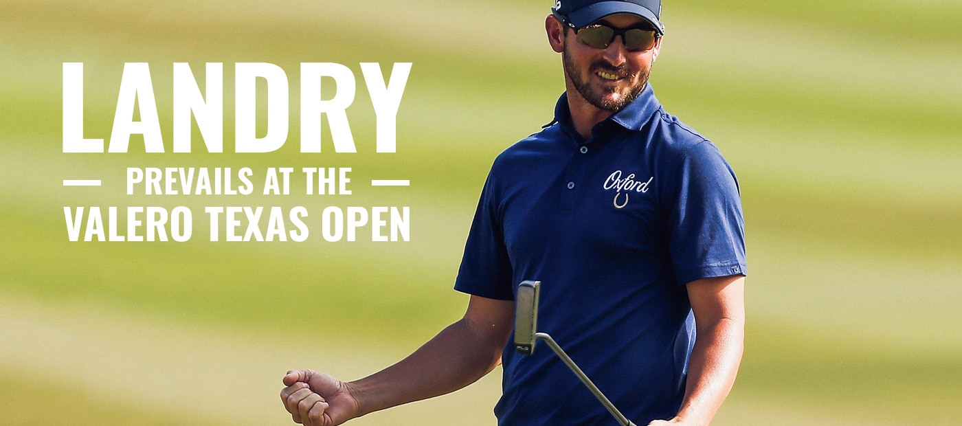Landry Prevails at Valero Texas Open | FootJoy MyJoys Shield Tip shoes