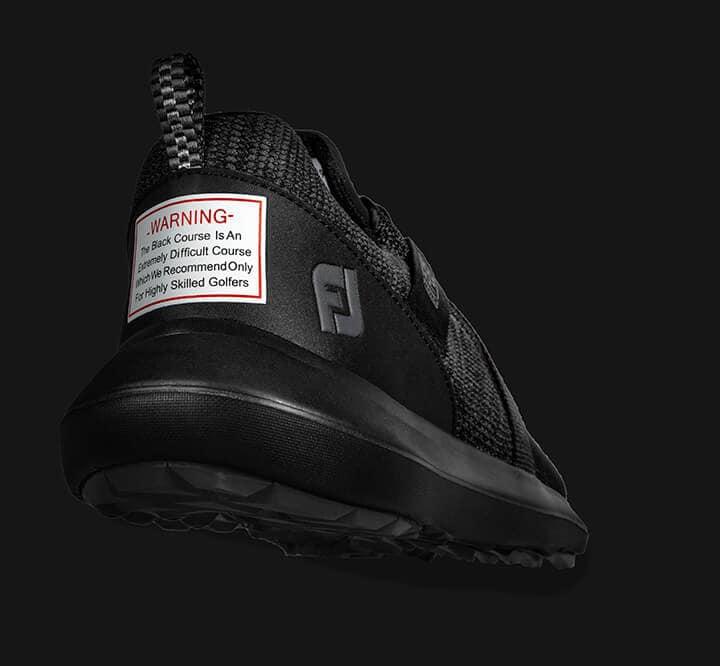 FJ FLEX Limited Edition Blackout Golf Shoe