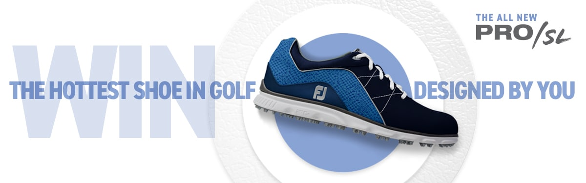 FootJoy MyJoys Pro/SL Sweepstakes Subscribe Banner