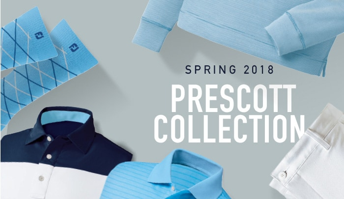 Prescott Collection Spring 2018 Golf Apparel