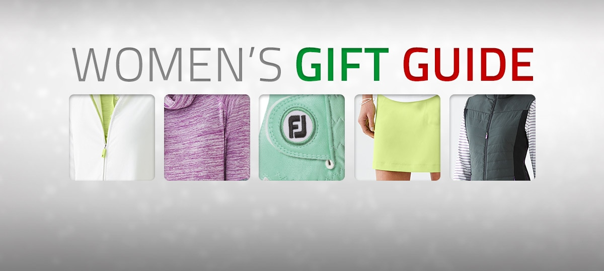 FootJoy Holiday 2017 Women's Gift Guide