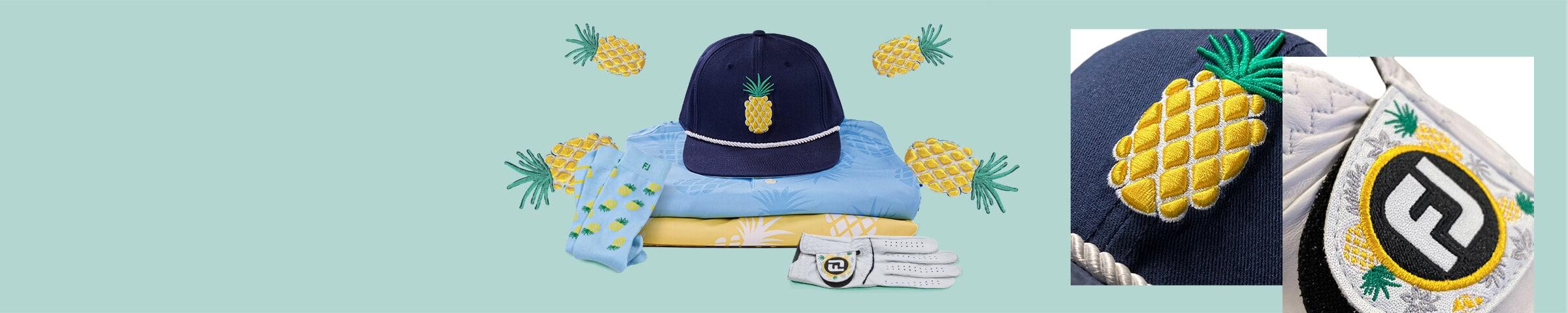 FootJoy 2020 Aloha Pineapple Collection