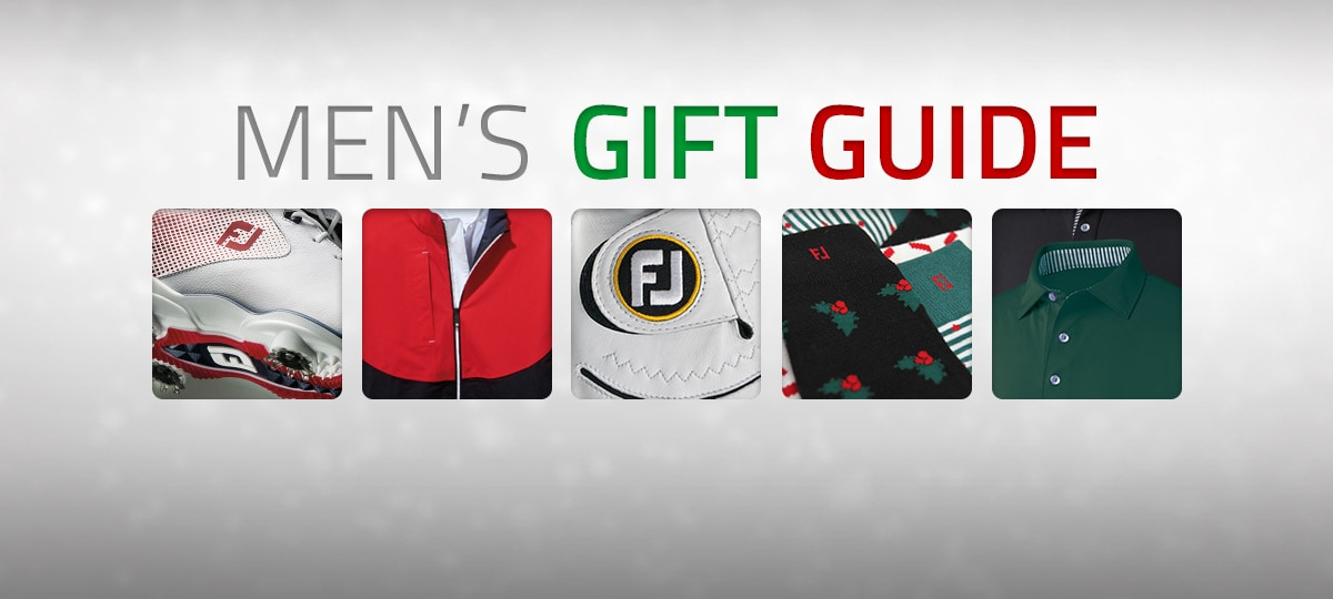 FootJoy Holiday 2017 Men's Gift Guide
