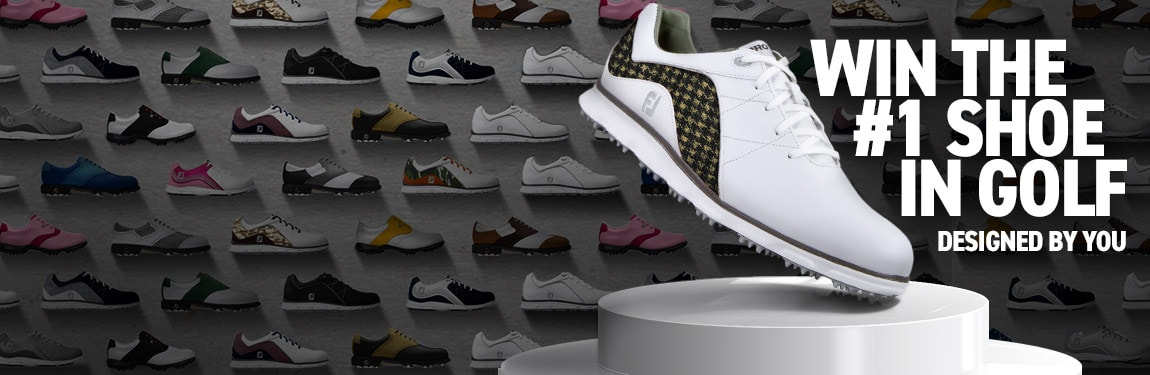 FootJoy MyJoys Sweepstakes Subscribe Banner