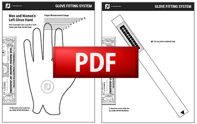 Golf Glove Fitting Guide | FootJoy